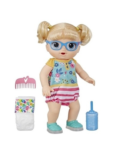 Hasbro Baby Alive Işıklı Ayakkabılarıyla Neşeli Bebeğim Renkli